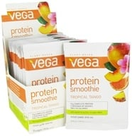 Vega - Protein Smoothie Tropical Tango - 12 x .84 oz. (23.7g) Packet - $19.19