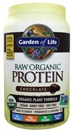 Garden of Life - RAW Organic Protein Chocolate - 23 oz.