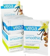 Image of Vega - Energizing Smoothie Vanilla Almondilla - 12 x .81 oz. (23g) Packet