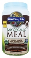 Garden of Life - RAW Meal Beyond Organic Meal Replacement Formula Chocolate Cacao - 2.7 lbs. (658010115933)