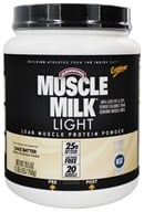 Cytosport - Muscle Milk Light Lower Calorie Lean Muscle Protein Cake Batter - 1.65 lbs. by Cytosport