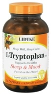 Lidtke Technologies - L-Tryptophan 500 mg. - 120 Capsules, from category: Nutritional Supplements