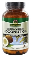 Extra Virgin Coconut Oil - 120 Softgels by Nature's Answer