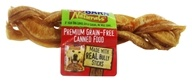 Redbarn - Natural Braided Bully Sticks Dog Chews - 7 in.