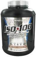 Dymatize Nutrition - ISO 100 100% Hydrolyzed Whey Protein Isolate Gourmet Chocolate - 5 lbs., from category: Sports Nutrition