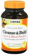 Lidtke Technologies - Cleanse and Build - 90 Capsules (630610002776)