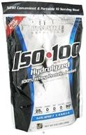 Dymatize Nutrition - ISO 100 100% Hydrolyzed Whey Protein Isolate - 10 Servings Gourmet Vanilla - 280 Grams DAILY DEAL, from category: Sports Nutrition