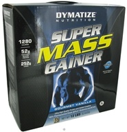 Image of Dymatize Nutrition - Super Mass Gainer Powder Gourmet Vanilla - 12 lbs.