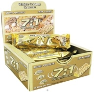 MetraGenix - 7:1 Protein Bar Low Carb White Crispy Crunch - 2.46 oz.
