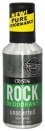 Crystal Body Deodorant - Rock Deodorant Men's Body Spray Unscented - 4 oz. - $5.24