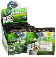Image of Garden of Life - Perfect Food RAW Super Green Formula (15 x 10 g) Chocolate Cacao - 15 Packet(s) - (150 g)