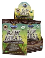 Garden of Life - RAW Meal Beyond Organic Meal Replacement Formula (10 x 87 g) Chocolate Cacao - 10 Packet(s) - (870 g) DAILY DEAL