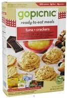 Image of GoPicnic - Ready to Eat Meal Tuna & Crackers - 6.2 oz.
