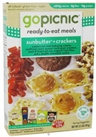 GoPicnic - Ready to Eat Meal Sunbutter & Crackers - 3.5 oz. by GoPicnic