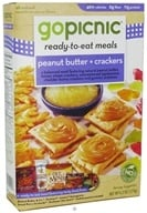 GoPicnic - Ready to Eat Meal Peanut Butter & Crackers - 6.2 oz. (890026002566)