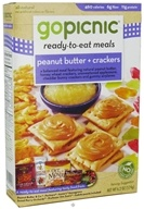GoPicnic - Ready to Eat Meal Peanut Butter & Crackers - 6.2 oz. by GoPicnic