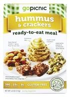 GoPicnic - Ready to Eat Meal Hummus & Crackers - 4.4 oz. by GoPicnic