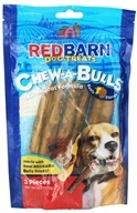 Redbarn - Chew-A-Bulls Dog Chews 6 in. Beefy Flavor - 3 Pack, from category: Pet Care