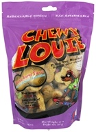 Redbarn - Chewy Louie Filled Dog Biscuits Peanut Butter Flavor - 14 oz.