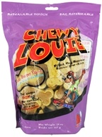 Redbarn - Chewy Louie Filled Dog Biscuits Peanut Butter Flavor - 28 oz.