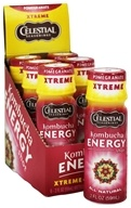 Image of Celestial Seasonings - Kombucha Energy Shot Pomegranate Xtreme - 2 oz.