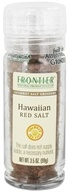 Frontier Natural Products - Gourmet Salt Grinder Hawaiian Red Salt - 3.5 oz.