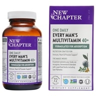 New Chapter - Every Man's One Daily 40 Plus - 72 Tablets
