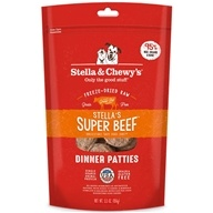 Stella & Chewy's - Freeze-Dried Dog Food Stella's Super Beef Dinner - 6 oz.