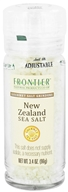 Image of Frontier Natural Products - Gourmet Salt Grinder New Zealand Sea Salt - 3.4 oz. CLEARANCE PRICED