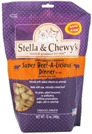 Stella & Chewy's - Freeze-Dried Cat Food Super Beef-A-Licious Dinner - 12 oz. - $22.32