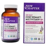 New Chapter - Every Woman's One Daily 40+ - 72 Tablets, from category: Vitamins & Minerals