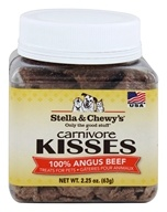 Image of Stella & Chewy's - Carnivore Kisses Dog Treats 100% Angus Beef - 2.25 oz.