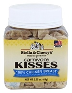 Stella & Chewy's - Carnivore Kisses Dog Treats 100% Chicken - 2.25 oz.