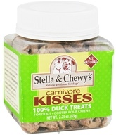 Stella & Chewy's - Carnivore Kisses Dog Treats 100% Duck - 2.25 oz.