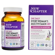 Multivitaminico giornaliero di ogni donna 40 Plus - 48 Tablets by New Chapter