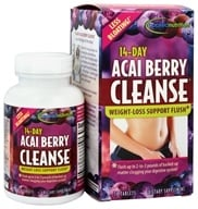 Applied Nutrition - 14-Day Acai Berry Cleanse - 56 Tablets, from category: Detoxification & Cleansing