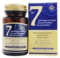 Image of Solgar - No. 7 Joint Support - 30 Vegetarian Capsules
