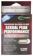 Applied Nutrition - Magnum Blood Flow Sexual Peak Performance - 16 Tablets, from category: Herbs