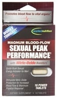 Applied Nutrition - Magnum Blood Flow Sexual Peak Performance - 16 Tablets by Applied Nutrition