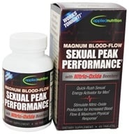 Applied Nutrition - Magnum Blood Flow Sexual Peak Performance - 40 Tablets, from category: Herbs