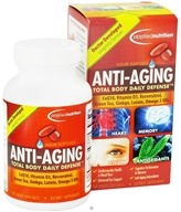 Applied Nutrition - Anti-Aging Total Body Daily Defense - 50 Softgels