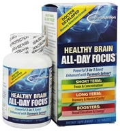 Applied Nutrition - Healthy Brain All Day Focus - 50 Tablets by Applied Nutrition