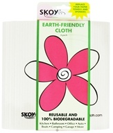 Skoy Cloth - Reusable Multi-Use Cleaning Cloth Eco-Friendly White - 4 Pack