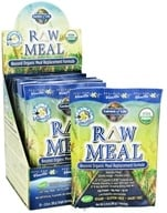 Garden of Life - RAW Meal Beyond Organic Meal Replacement Formula (10 x 87 g) Vanilla - 10 Packet(s) - (800 g) (658010116138)