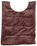 Image of Herbal Concepts - Herbal Comfort Back Wrap - Dark Chocolate