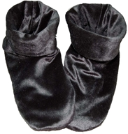 Herbal Concepts - Herbal Comfort Booties - Black - $27.95