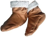 Herbal Concepts - Herbal Comfort Booties - Ultra Suede, from category: Health Aids