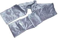 Image of Herbal Concepts - Herbal Comfort Warming Scarf - Charcoal