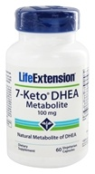 Life Extension - 7-Keto DHEA Metabolite 100 mg. - 60 Vegetarian Capsules