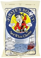 Image of Pirate Brands - Pirate's Booty Baked Rice and Corn Puffs Aged White Cheddar - 10 oz.